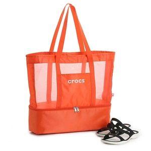 CROCS Orange Beach Cooler Tote Bag NEW